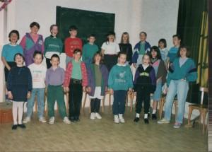 la chorale 1991